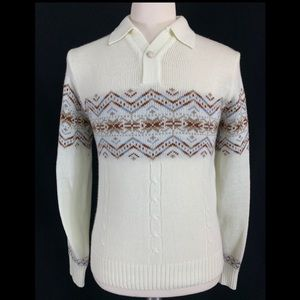 70s Mister Man Knit Pullover Sweater